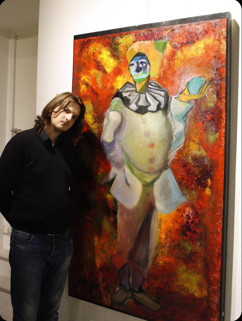 Théo Munch Artiste-peintre Sarthe Le Mans