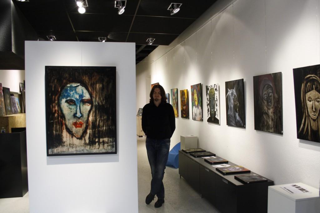 Theo Munch artiste-peintre Le Mans